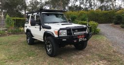 TOYOTA LANDCRUISER VDJ76R WORKMATE WAGON 5DR MAN 5SP, 4X4 4.5DT [MY10]