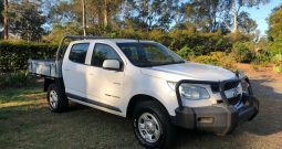 HOLDEN COLORADO RG MY13 LX CAB CHASSIS CREW CAB 4DR MAN 5SP 4X4 1067KG 2.8DT