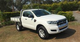 FORD RANGER PX MKII XL HI-RIDER CAB CHASSIS SUPER CAB 4DR SPTS AUTO 6SP, 4X2 1375KG 2.2DT